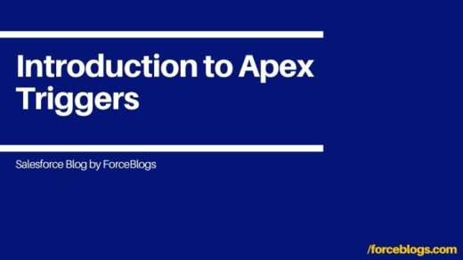 Introduction to Apex Triggers