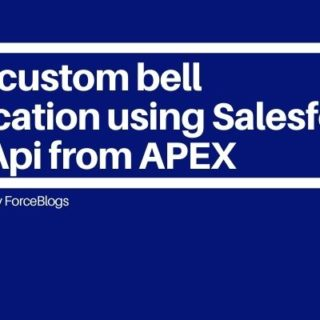 Send custom bell notification using Salesforce Rest Api from APEX
